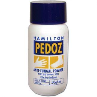 Hamilton Pedoz Anti-Fungal Foot Powder 50gr