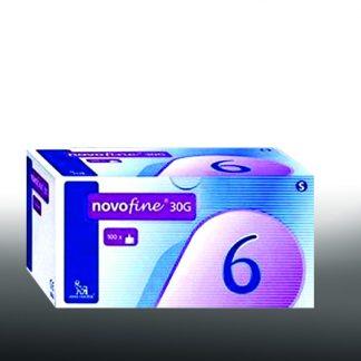 Novofine Bελόνες 30G 6mm 100τμχ