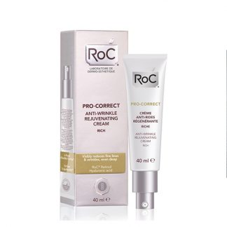 RoC Pro-Correct Αντιρυτιδική Κρέμα για Ξηρές Επιδερμίδες 40ml