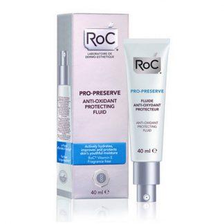 RoC Pro-Preserve Anti-Oxidant  Fluid 40ml - Κρέμα Προστασίας με Αντιοξειδωτική Δράση SPF30, Λεπτόρευστη Υφή