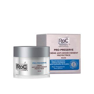 RoC Pro-Preserve Anti-Dryness Protecting Cream 50ml - Κρέμα Προστασίας με Αντιοξειδωτική Δράση, Πλούσια Υφή