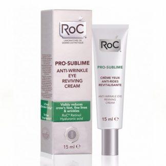 RoC Pro-Sublime Anti-Wrinkle Eye Reviving Cream 15ml - Αντιρυτιδική Αναζωογονητική Κρέμα Ματιών 15ml