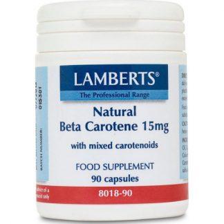 Lamberts Beta Carotene Natural 15mg 90caps