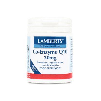 Lamberts Co-Enzyme Q10 30mg 30caps