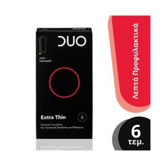 Duo Premium Extra Thin 6τμχ