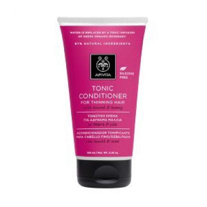 Apivita Tonic Conditioner Τονωτική Κρέμα για Αδύναμα Μαλλιά με Δάφνη & Μέλι 150ml