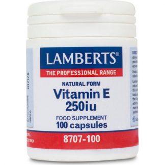 Lamberts Vitamin E 250IU 100caps