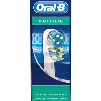 Oral-B Dual Clean 2 Ανταλλακτικές Κεφαλές Βουρτσίσματος