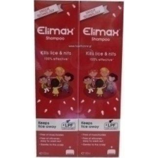 Elimax Αντιφθειρικό Σαμπουάν 2X100ml (-50% Στο 2ο Προϊόν)