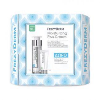 Frezyderm Moisturizing Plus Cream 30+ 50ml & Δώρο De-Make Up 4 in 1 80ml