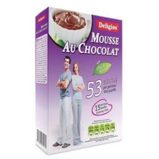Deligios Mousse Au Chocolat με Stevia 200gr
