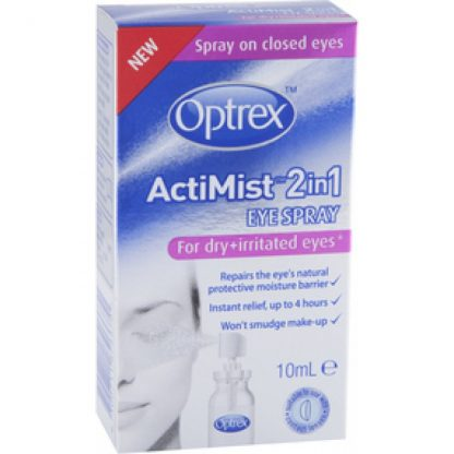 Optrex Actimist Spray 2 in 1 Dry and Irritated Eyes 10ml