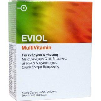 Eviol Multivitamin Συμπλήρωμα διατροφής 30tabs