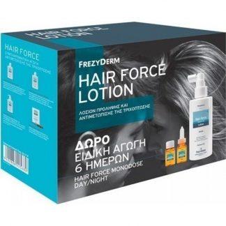 Frezyderm Hair Force Lotion 100ml & Monodose Day/Night 6X10ml