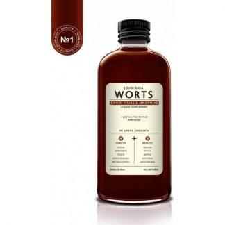 John Noa Worts No1 Σιρόπι Ομορφιάς & Υγείας 250ml Σοκολάτα