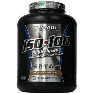 Dymatize ISO-100 Hydrolyzed 100% Whey Protein Gourmet Chocolate 2270gr