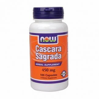 Now Foods Cascara Sagrada 450mg 100caps
