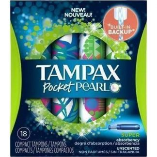 Tampax Compak Pearl Super 18τμχ