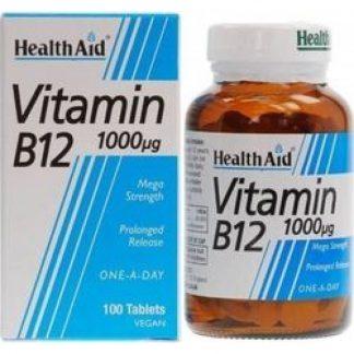 Health Aid B12 1000μg 100Vegitabs