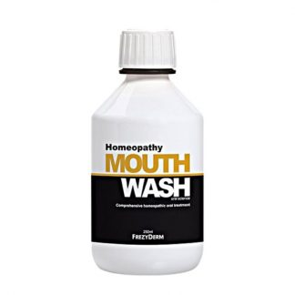 Frezyderm Homeopathy Mouthwash Στοματικό Διάλυμα Κατάλληλο για Ομοιοπαθητική, 250ml
