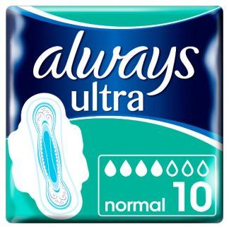 Always Ultra Normal Σερβιέτες με Φτερά 10τμχ