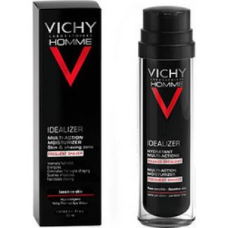 Vichy Homme Idealizer Ενυδατική Κρέμα Προσώπου για Συχνό Ξύρισμα 50ml