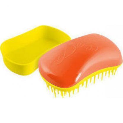 Dessata Mini Βούρτσα Μαλλιών Πορτοκαλί/Κίτρινο 1τμχ