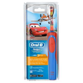 Oral-B Stages Power Kids Ηλεκτρική Οδοντόβουρτσα με τους χαρακτήρες του Cars