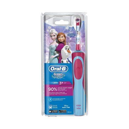 Oral-B Stages Power Kids Ηλεκτρική Οδοντόβουρτσα με τους χαρακτήρες του Frozen