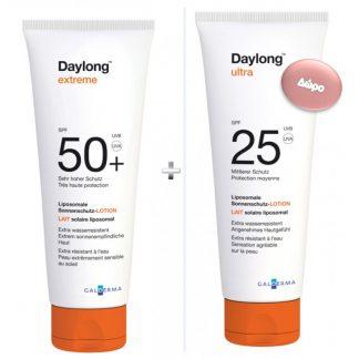 Daylong Extreme SPF50 100ml & Daylong Ultra SPF25 100ml