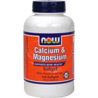 Now Foods Calcium & Magnesium 120softgels