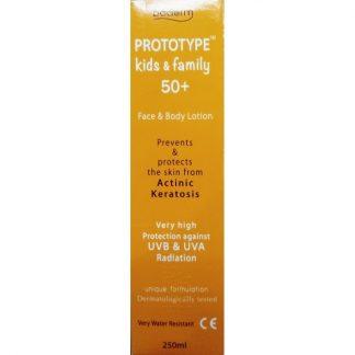 Boderm Prototype Kids & Family SPF50+ 250ml