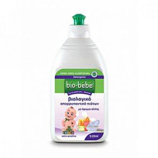 Bio-Bebe Βιολογικό Απορρυπαντικό Πιάτων με άρωμα Αλόης 510ml
