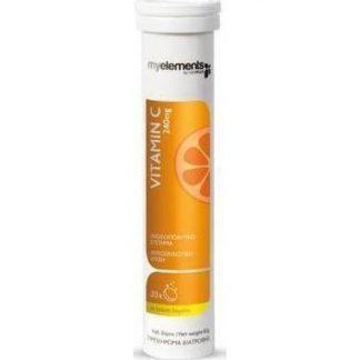 My Elements Vitamin C 240mg με Γεύση Λεμόνι 20 αναβράζοντα δισκία