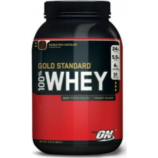 Optimum Nutrition 100% Whey Protein Gold Standard 908gr Double Rich Chocolate
