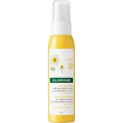Klorane Reflet Blonds Spray με Χαμομήλι & Μέλι για την Ανάδειξη των Ξανθών Μαλλιών 125ml