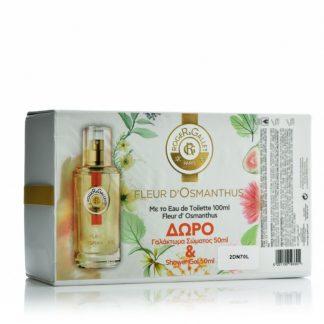 Roger & Gallet Set Eau Fraiche Parfumee Fleur d' Osmanthus 100ml & Δώρο Lait Revitalisant Hydratant 50ml & Gel Douche Fraicheur Euphorisant 50ml