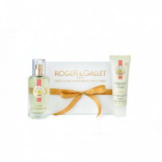 Roger & Gallet Set Fleur D' Osmanthus Eau Fraiche Parfumee 50ml & Δώρο Lait Revitalisant Hydratant 50ml