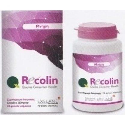 Qualia Pharma Recolin 30caps