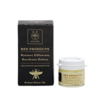 Apivita Bee Products Φρέσκος Ελληνικός Βασιλικός Πολτός 10gr