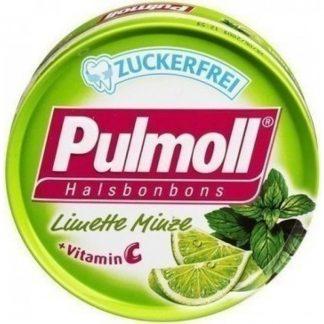Pulmoll Vitamin C Λάιμ & Μέντα 45gr