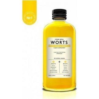 John Noa Worts No1 Σιρόπι Ομορφιάς & Υγείας 250ml Ανανάς