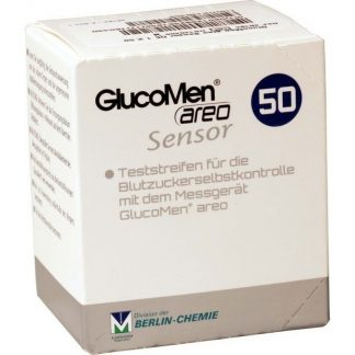 Menarini Glucomen Sensor Areo 50τμχ
