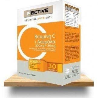 F Ective Vitamin C & Acerola 30tabs