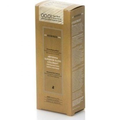 Korres Abyssinia Superior Gloss Colorant 00.01 Έντονο Σαντρέ