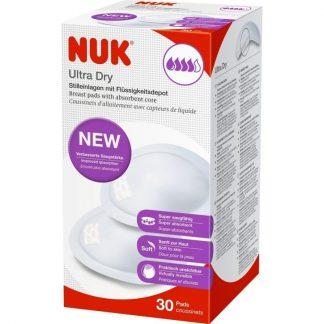 NUK Επιθέματα Στήθους Ultra Dry 30τμχ