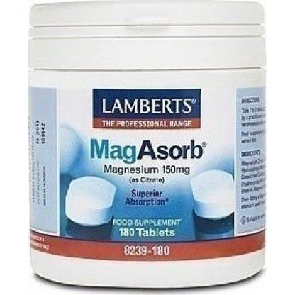 Lamberts Mag Asorb 180tabs