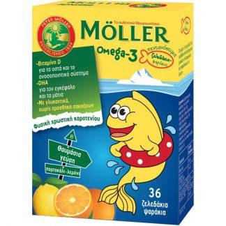 Nature's Plus Moller's Ω3 Λιπαρά Οξέα 36 gummies