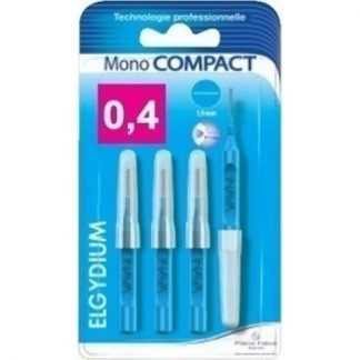 Elgydium Mono Compact Blue (0.4) 4τμχ