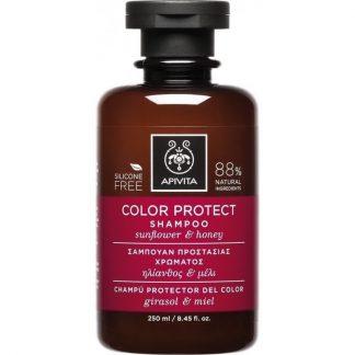 Apivita Σαμπουάν Color Protect με Ηλίανθο & Μέλι 250ml